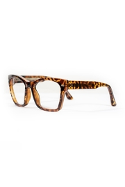 Spitfire Tortoise Clear Sunglasses - Side cropped