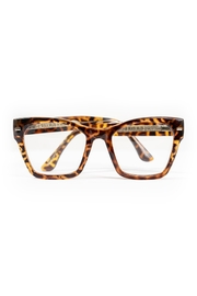 Spitfire Tortoise Clear Sunglasses - Front cropped