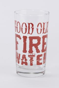 Shoptiques Product: Fire Water Glass