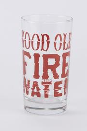 Spitfire Girl Fire Water Glass - Product Mini Image