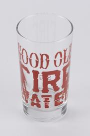 Spitfire Girl Fire Water Glass - Front full body