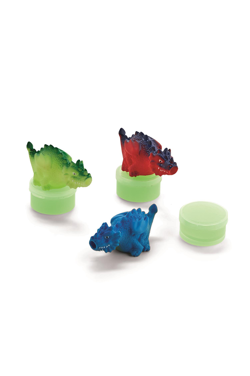 Cupcake and Cartwheels Spitting Dragon Glow-In-The-Dark Slime Set - Front Full Image