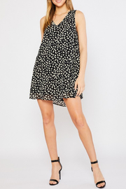 Mittoshop Splash Dot Animal Print Dress - Product Mini Image