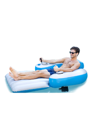 Pool Candy Splash Runner Motorized Deluxe Pool Lounger - Product Mini Image