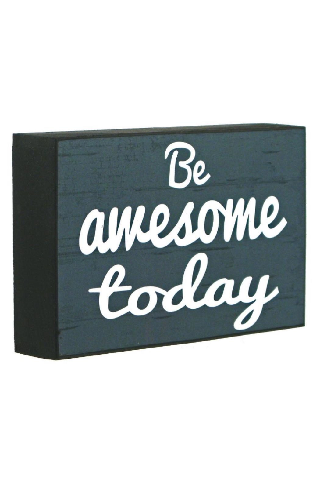 Splash International Be Awesome Today - Front Cropped Image