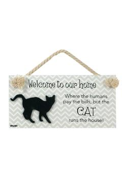 Shoptiques Product: Cat Welcome Sign