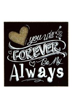 Shoptiques Product: Forever Box Sign