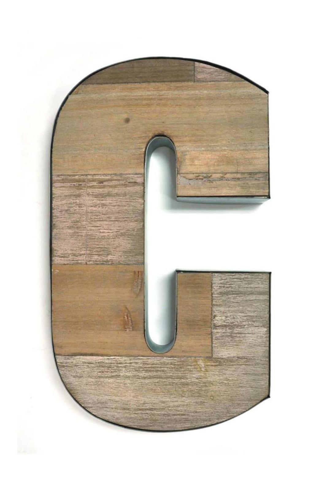 Splash international letter c from canada by inspired for Decor products international