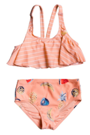 Roxy Splashing You Flutter Set Swimsuit - Front cropped