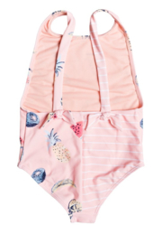 Roxy Splashing You One Piece Swimsuit - Front full body