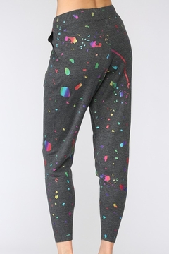 Fate Splatter Paint Knit Joggers - Alternate List Image