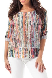 Angel Apparel Splattered Layered Top - Product Mini Image