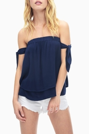 Splendid Bamboo Gauze Top - Front cropped