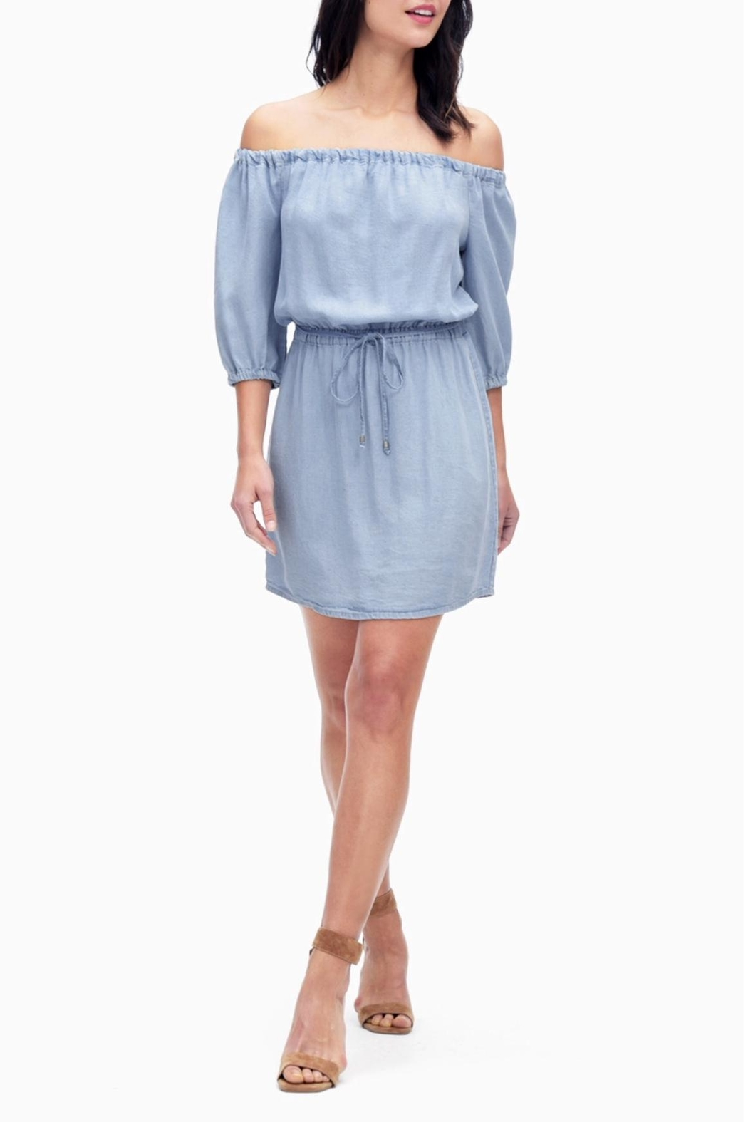eccc87c3a2d82 Splendid Chambray Off Shoulder Dress from New Jersey by free shop ...