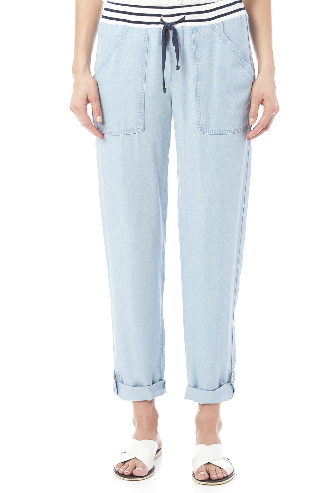 Splendid Chambray Pant - Side Cropped Image
