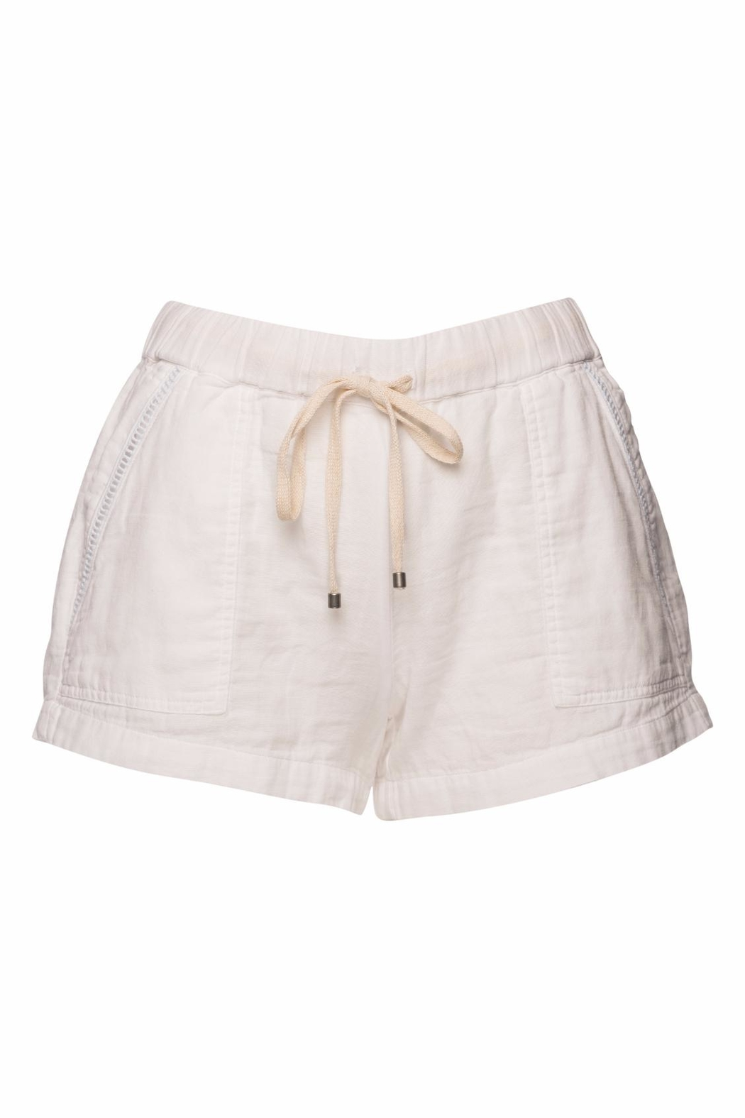 Splendid Double Cloth Shorts - Front Cropped Image