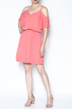 Shoptiques Product: Flirty Off Shoulder Dress