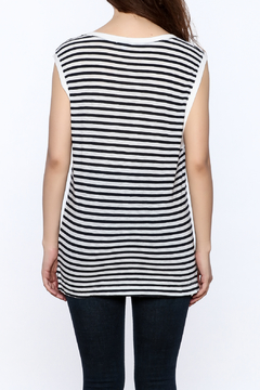 Shoptiques Product: French Stripe Muscle Tee