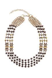 Splendid Iris Multi Chain Necklace - Product Mini Image