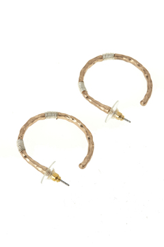 Shoptiques Product: Wired Hoop Earrings