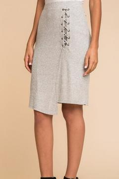 Shoptiques Product: Lace Up Skirt