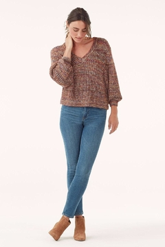 Splendid Loose-Knit Marbled Sweater - Alternate List Image