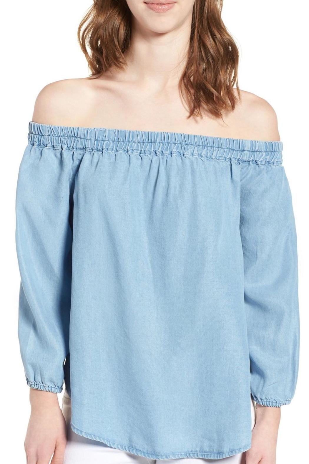 8da27113e5db6 Splendid Chambray Off Shoulder Top from New Jersey by free shop ...