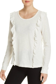 Splendid Ruffled Tee - Front cropped