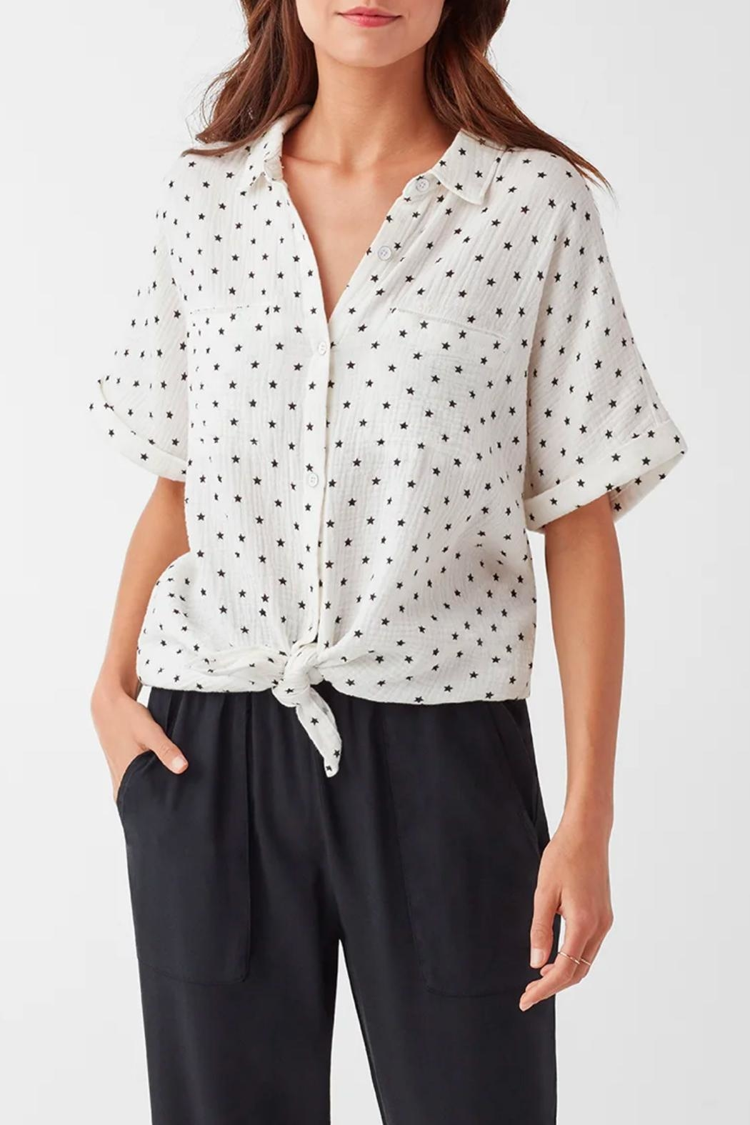 Splendid Star Print Shirt - Front Cropped Image
