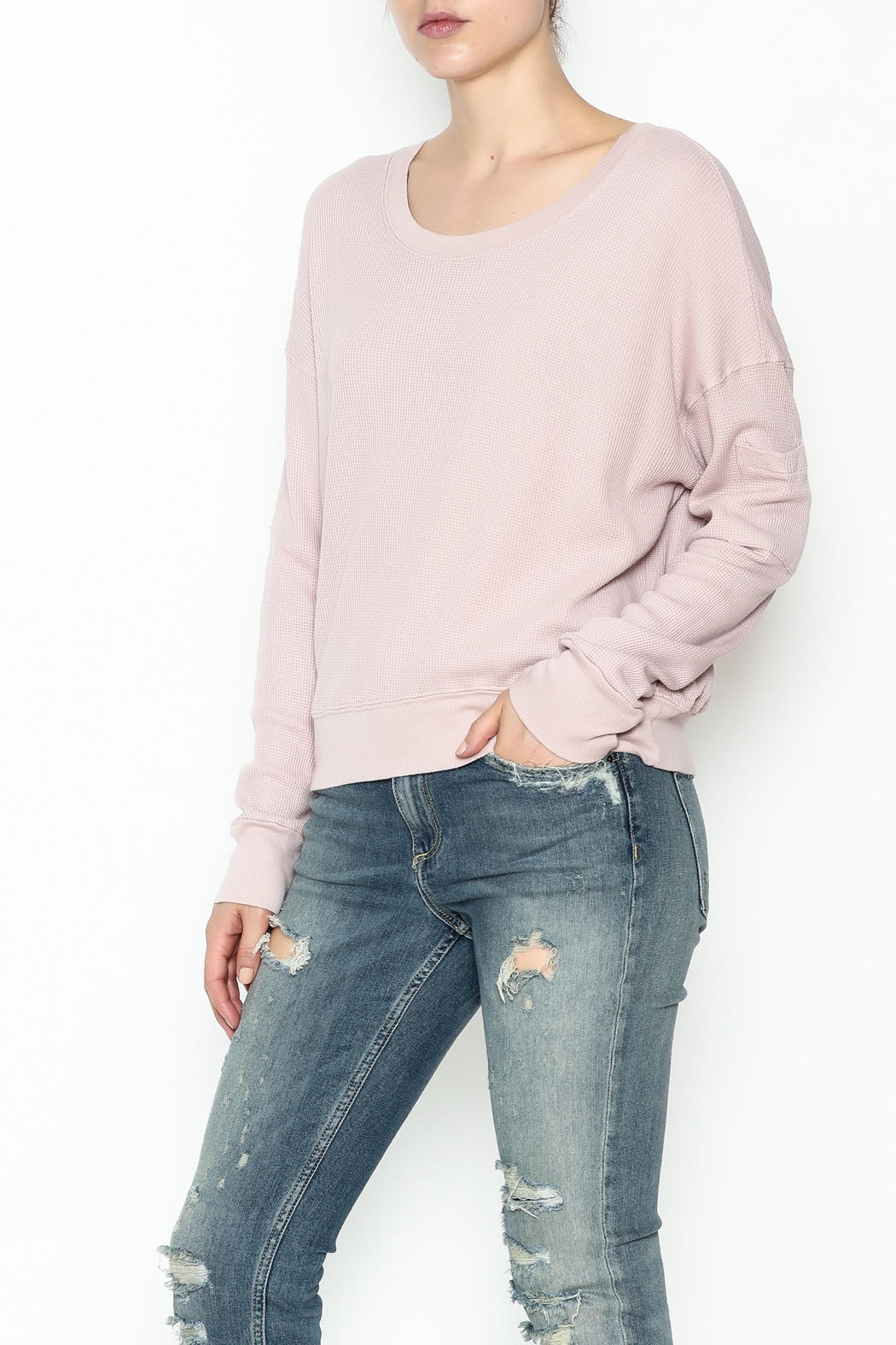 Splendid Wedge Crop Top - Main Image