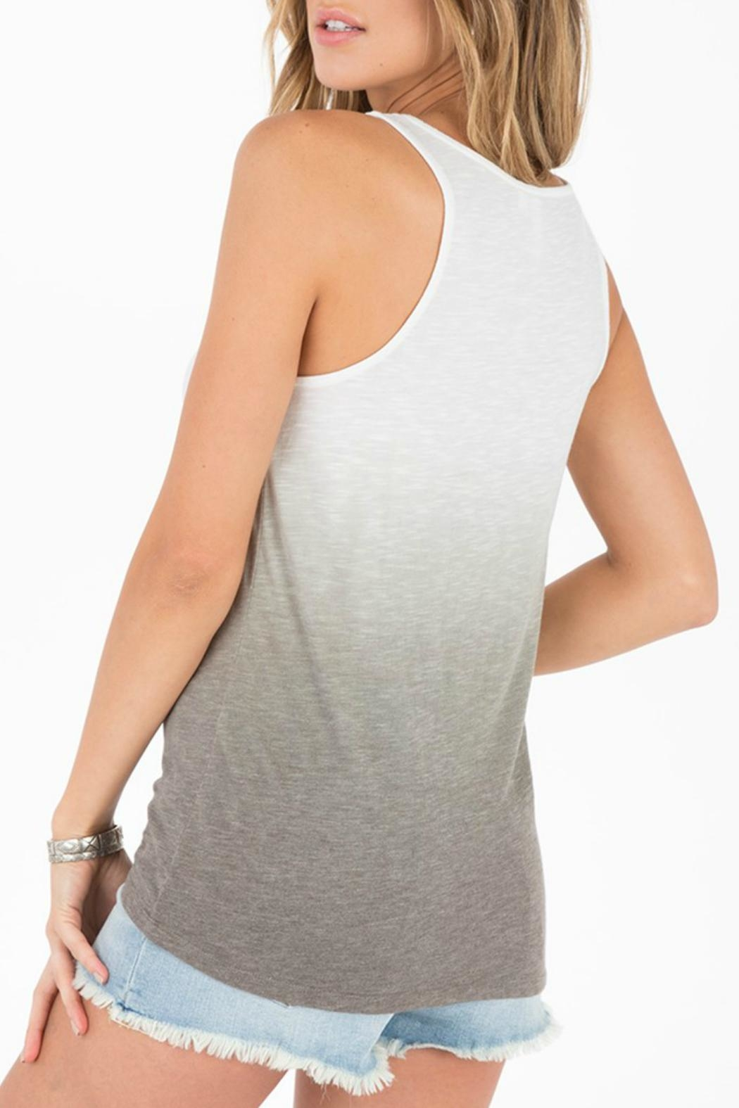 Others Follow  Splendor Ruched Tank - Side Cropped Image