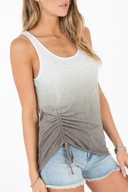 Others Follow  Splendor Ruched Tank - Front full body