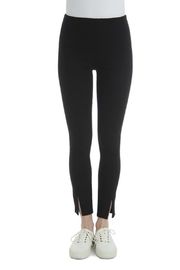 Lyssé Split Hem Denim Legging - Product Mini Image