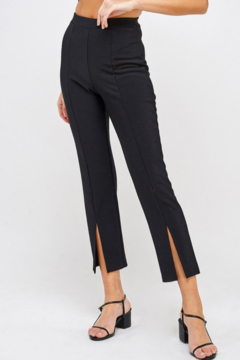 Shoptiques Product: Split Hem Knit Pants