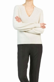 LEO & SAGE Split Neck Sweater - Product Mini Image