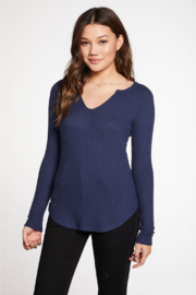 Chaser Split Neck Thermal Long Sleeves - Product Mini Image