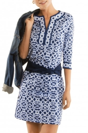 Gretchen Scott Split Neck Tunic - Product Mini Image