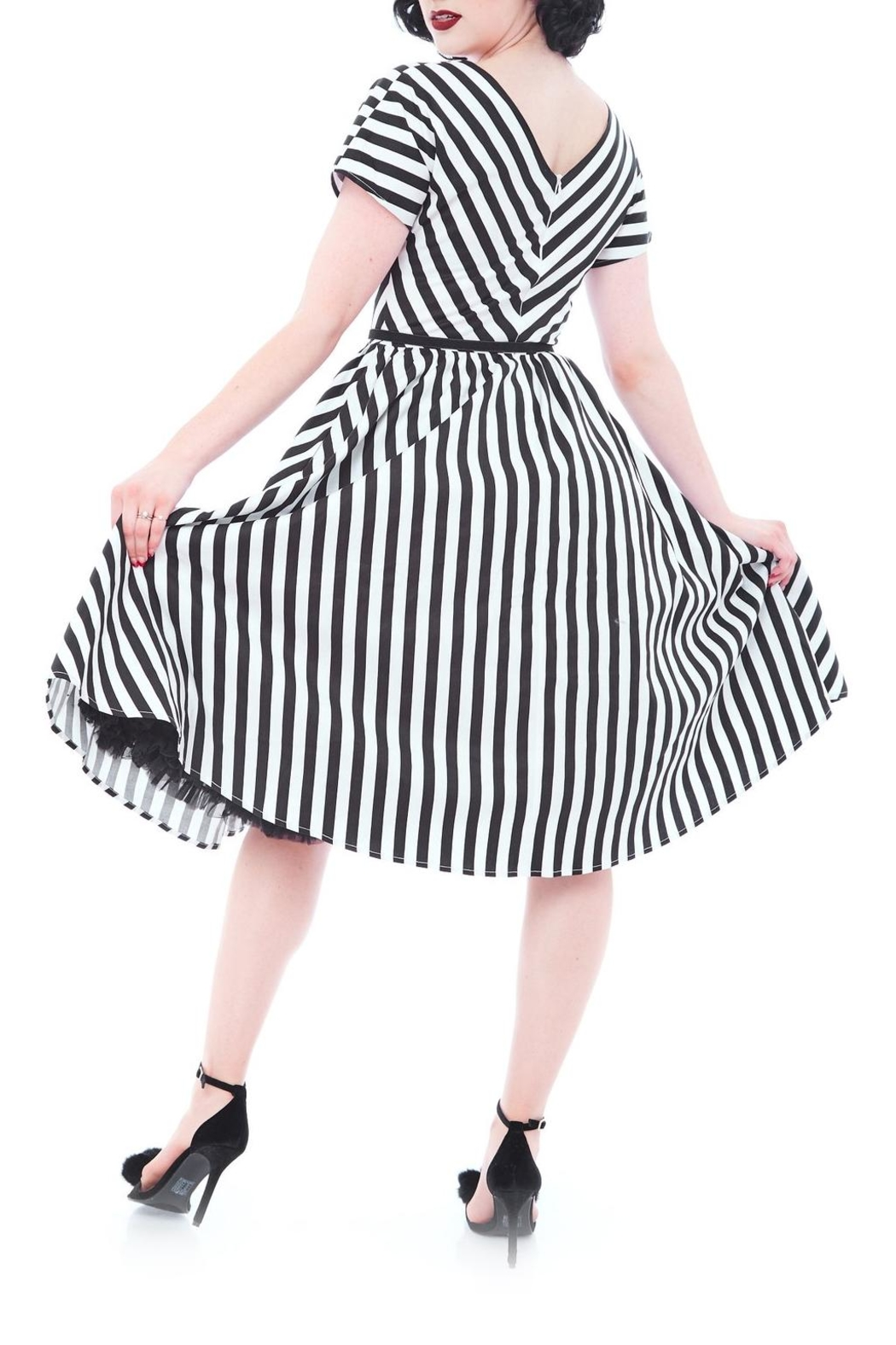 Rebel Love Clothing Spook Show Dress - Front Full Image