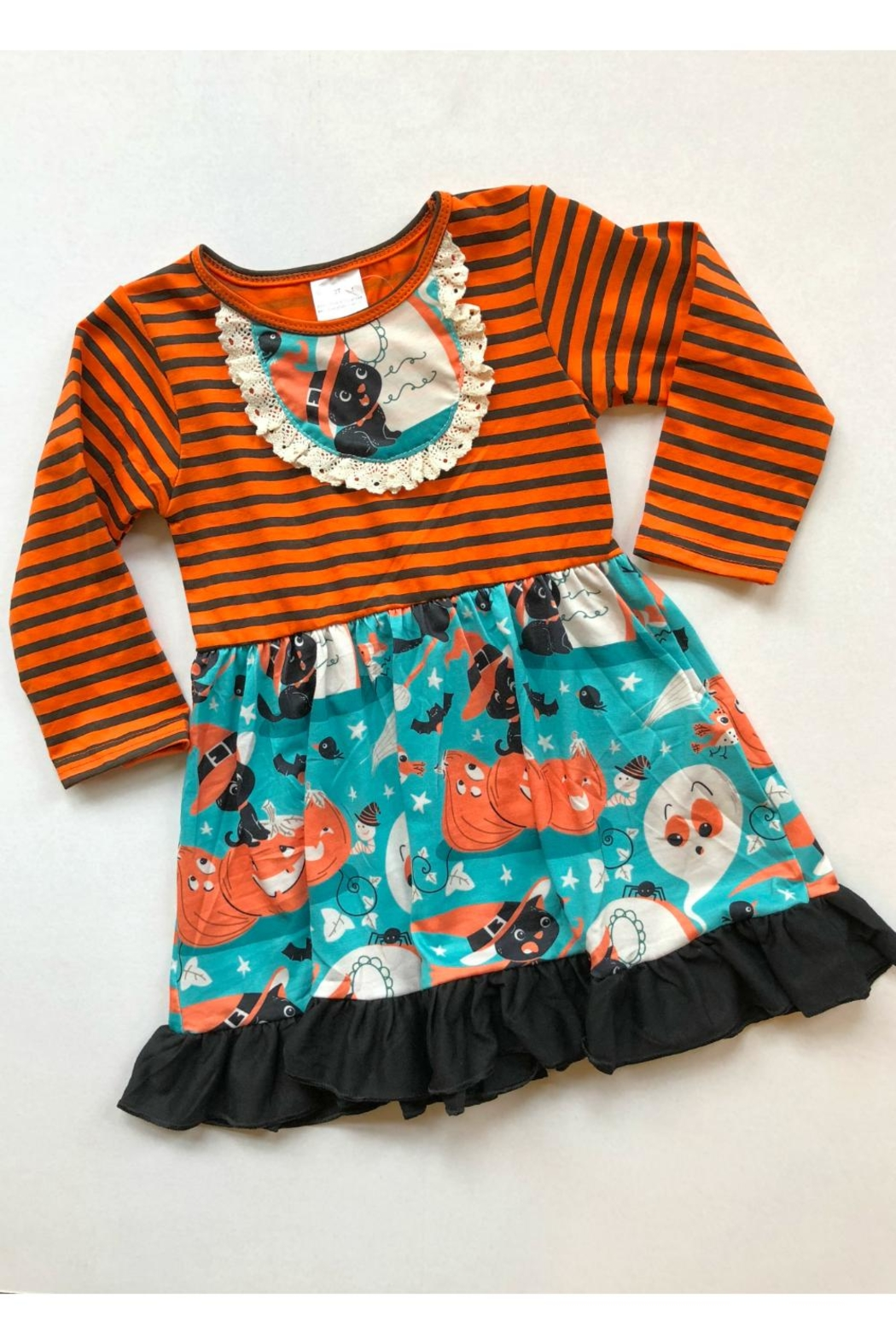 HONEYDEW Spooky Time Dress - Front Cropped Image