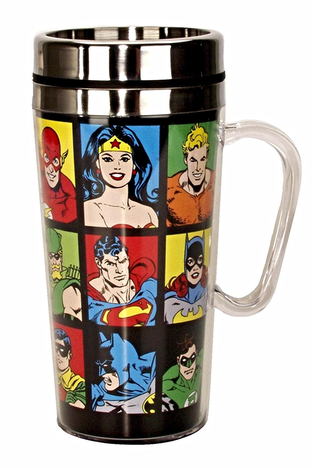 Spoontiques Dc Travel Mug - Main Image