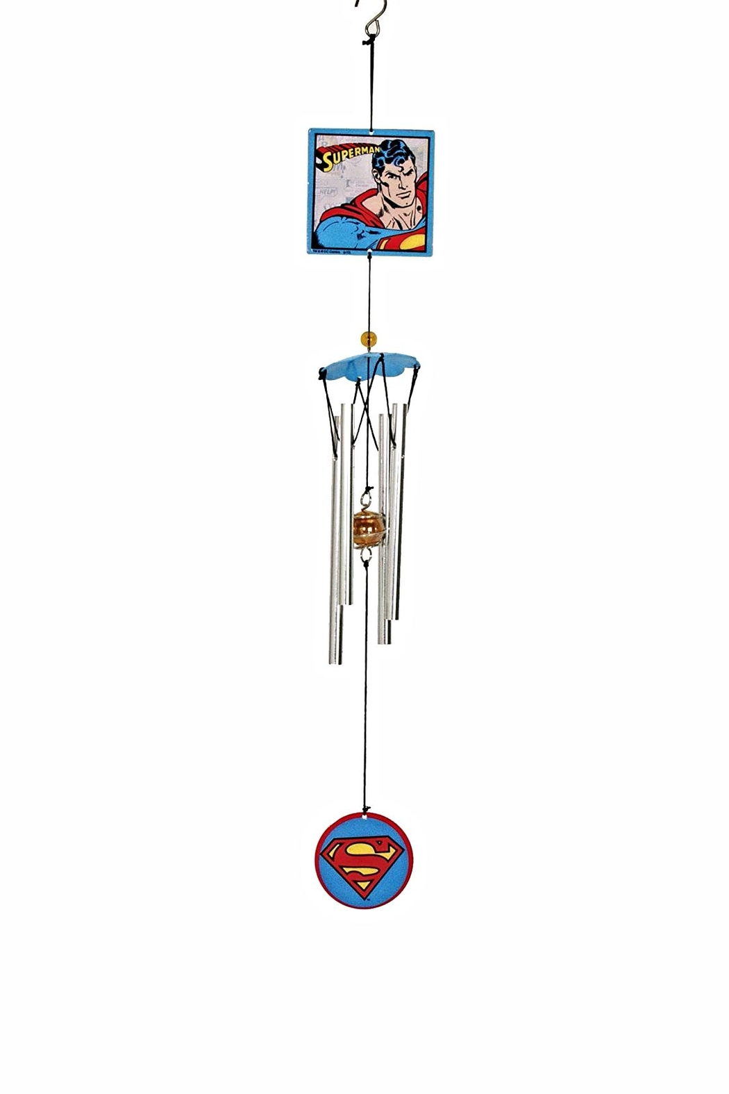 Spoontiques Superman Wind Chime - Main Image