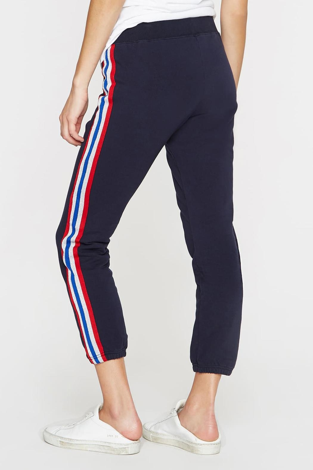 Pam & Gela Sport Stripe Pants - Side Cropped Image