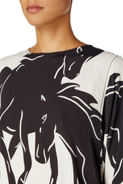 Sport Max Curacao Horse Blouse - Back cropped