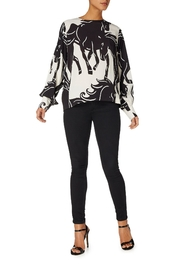 Sport Max Curacao Horse Blouse - Front full body
