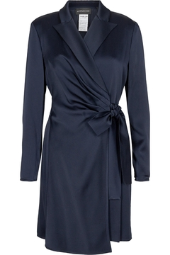 Sportmax Fumana Tuxedo Wrap Dress - Product List Image