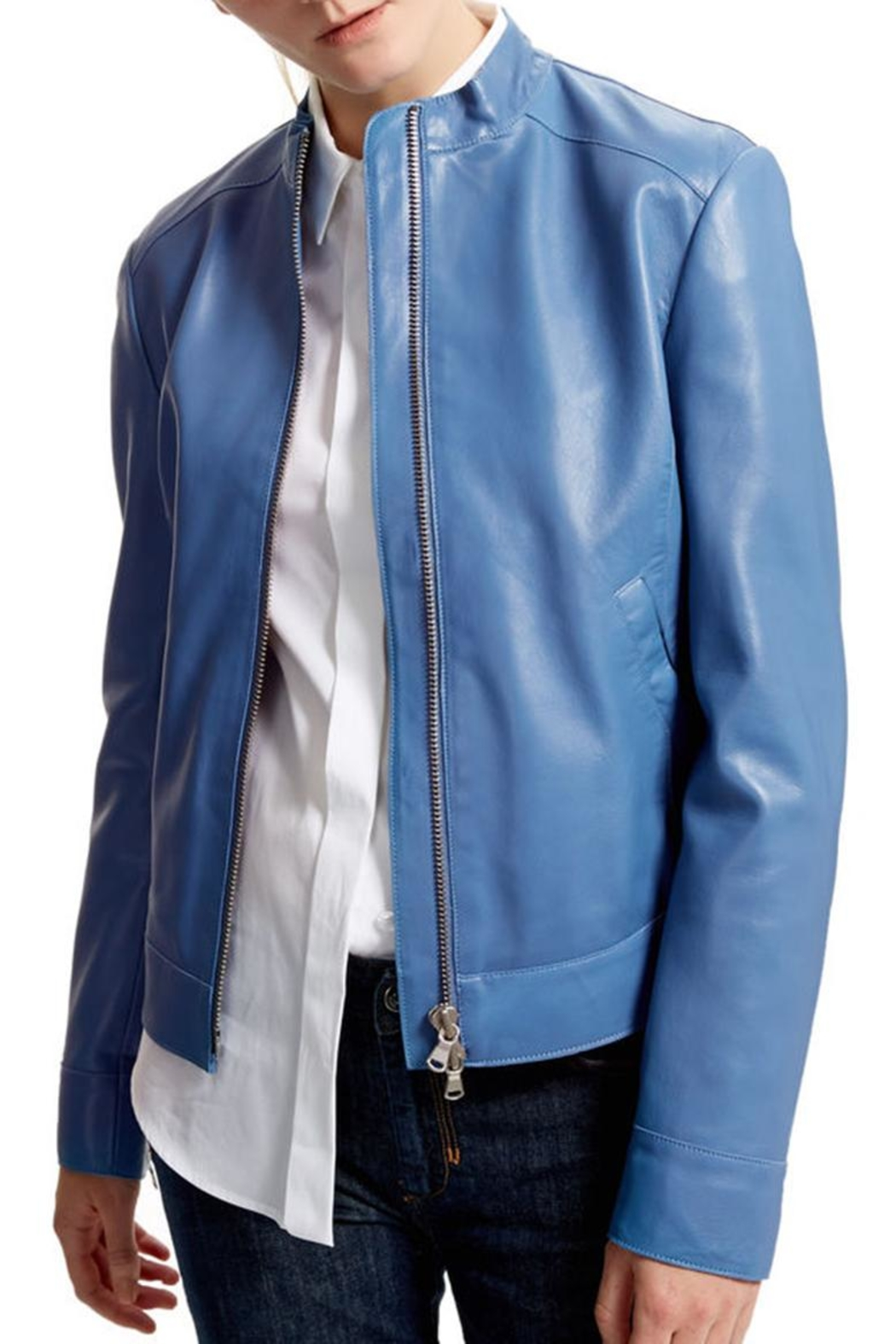 Sportmax Gallo Leather Jacket - Main Image
