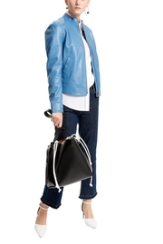 Sportmax Gallo Leather Jacket - Front full body