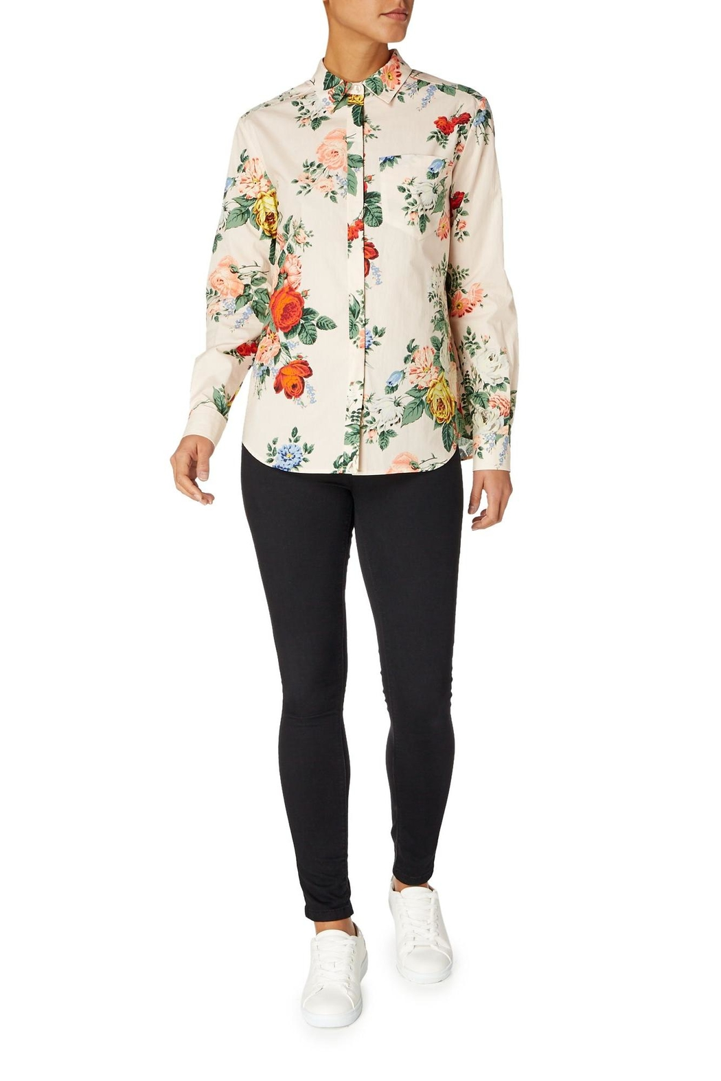Sportmax Gaspare Floral Shirt - Front Full Image