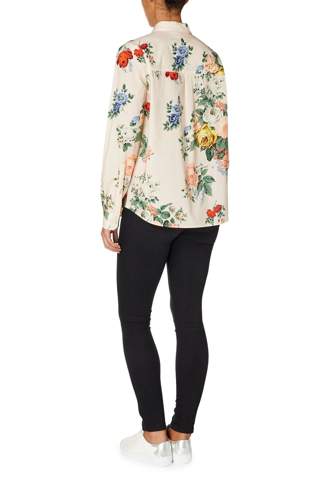 Sportmax Gaspare Floral Shirt - Side Cropped Image