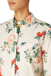 Sportmax Gaspare Floral Shirt - Back cropped